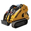 MATTSON ML525 mini skid steer loader with multi function attachment for sale