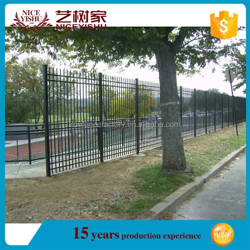 2016 dernière design Moderne pour fer clôture/utilisé cheval ...