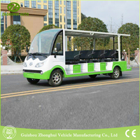 Green power 14 seat electric passenger car 5kw