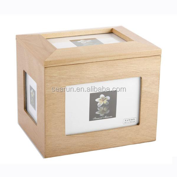 Wooden Photo Frames Storage Box