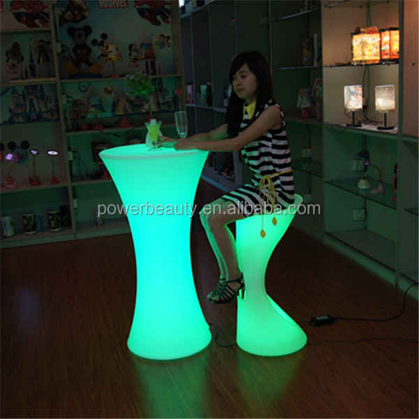Indoor color changing led lighting up used commercial bar sale
