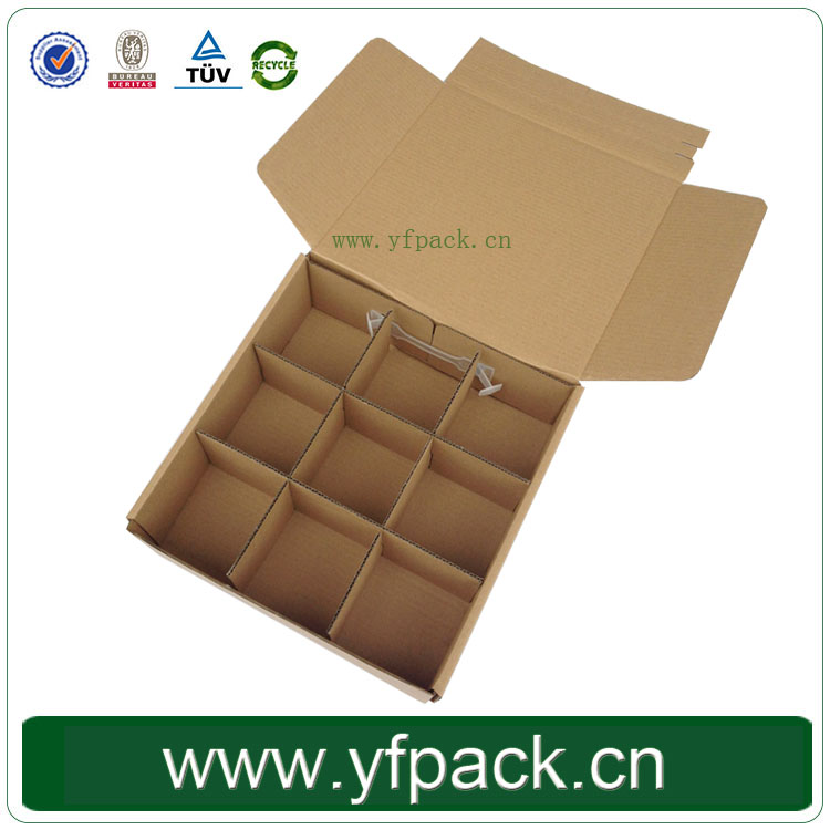 Corrugated Flat Folding Lid Fruit Delivery Carton Box