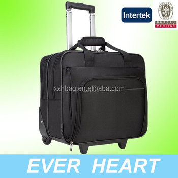 Wheeled Laptop Roller Cabin Business Office Briefcase Work Bag Trolley