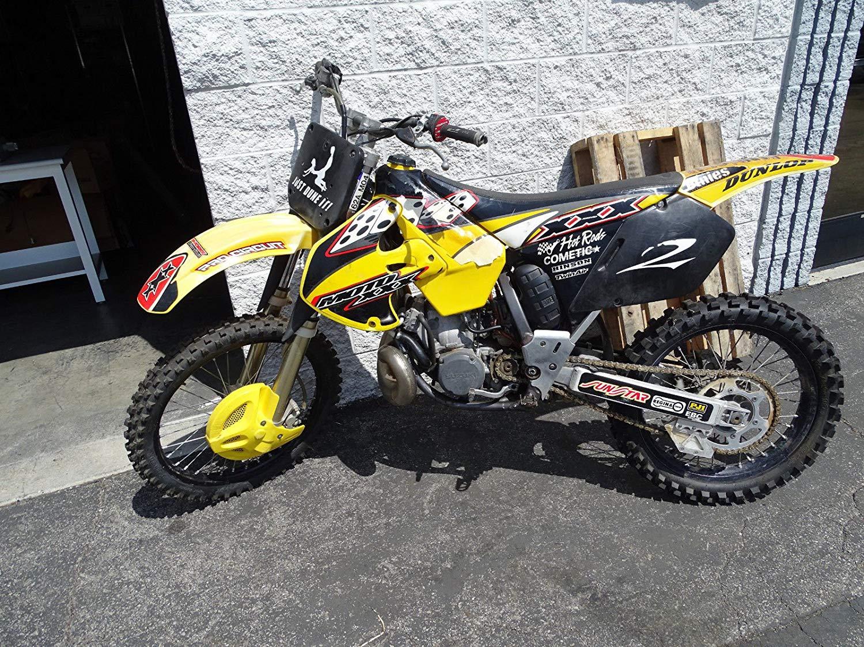 SUZUKI POLISPORT RESTYLE 01-08 RM 125 250 MOTOCROSS BIKE GRAPHICS SLICK SERIES B