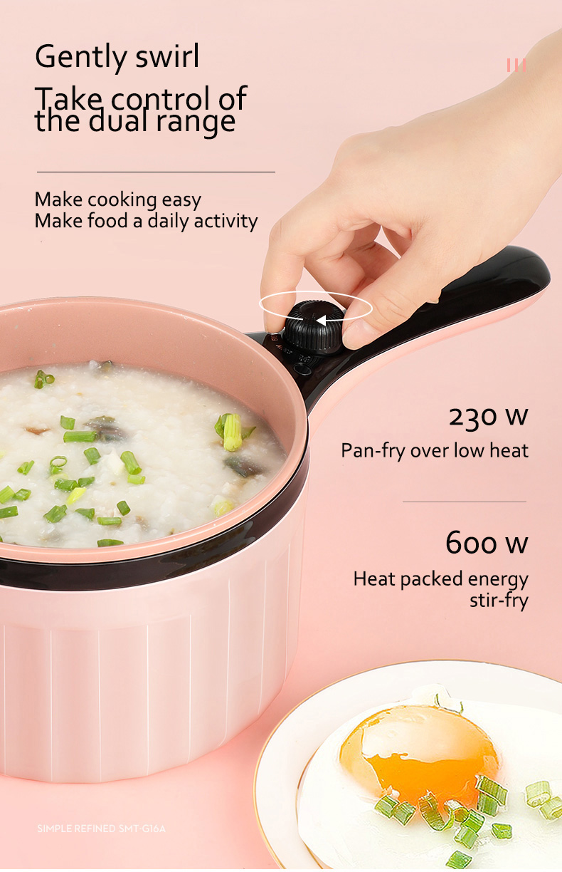 Mini Portable Small Power Non-Stick Electric Frying Pan