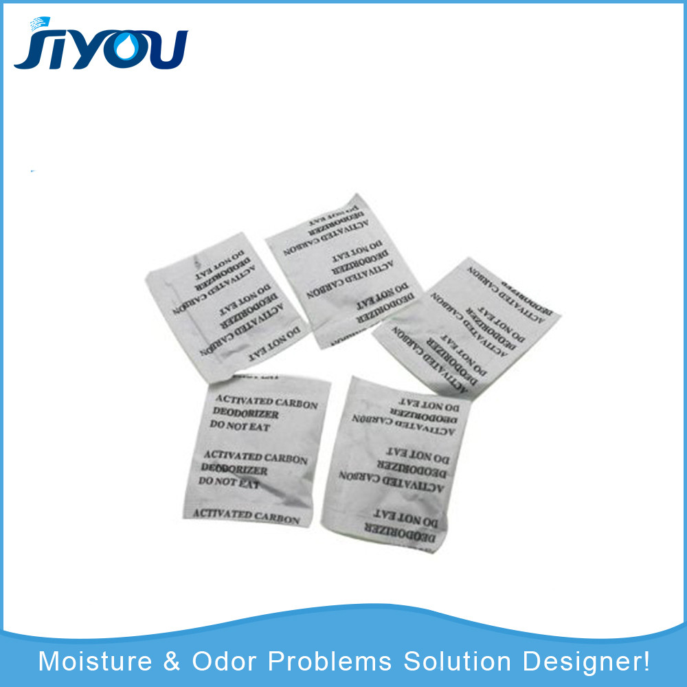 2g garment use moisture drying activated clay desiccant