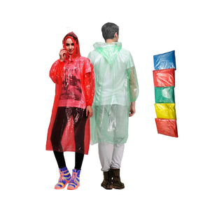 Customized size transparent waterproof traffic raincoat fabric