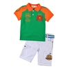 High quality football team logo casual dri fit kids polo shirts wholesale