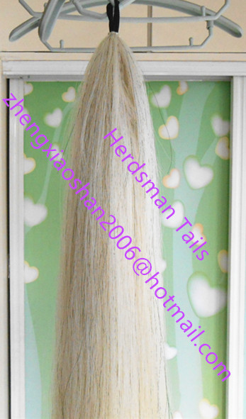 Natural cloth loop false horse tail for horse racing and showing
