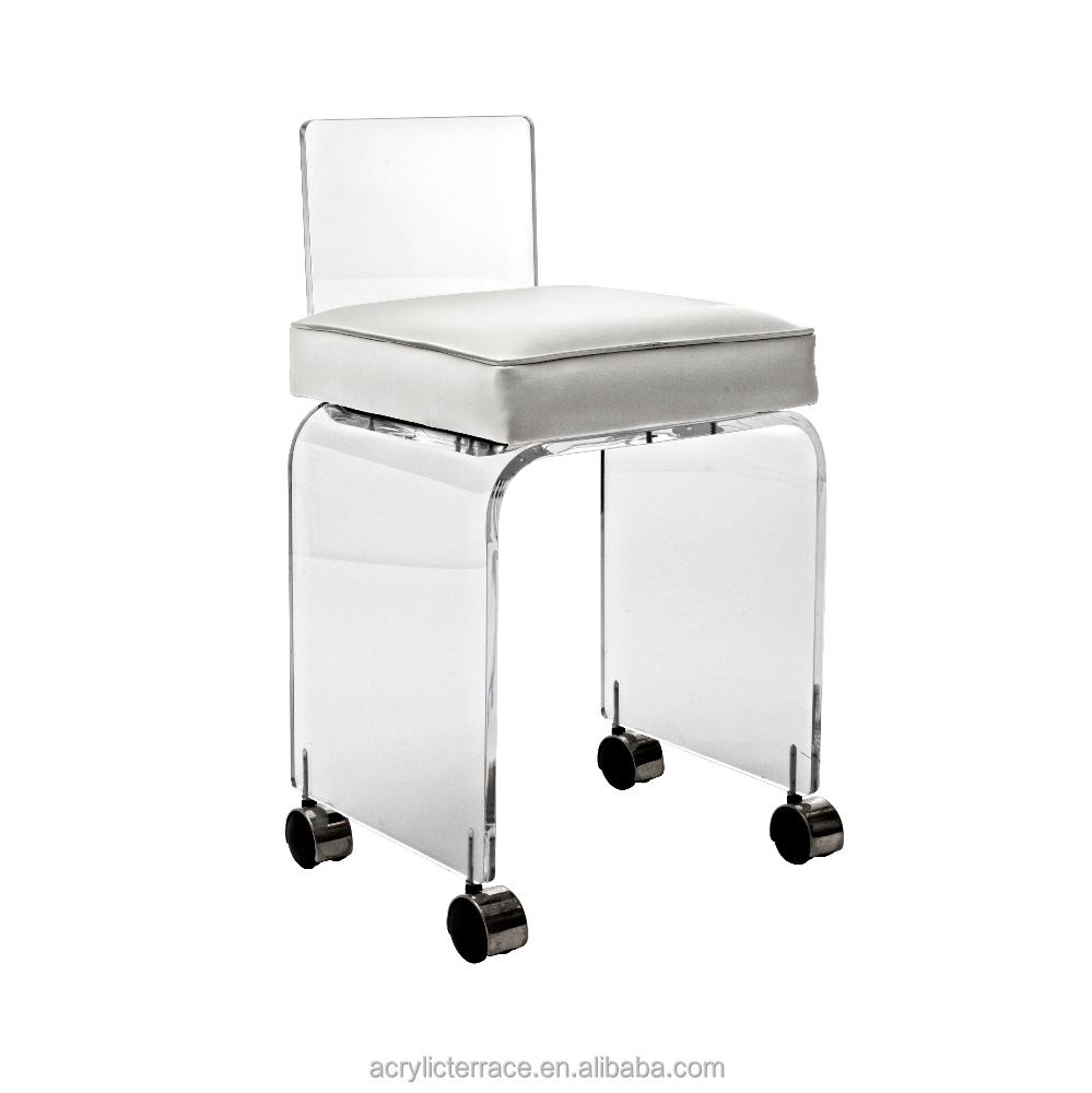 acrylic vanity stool acrylic vanity stool suppliers and at alibabacom
