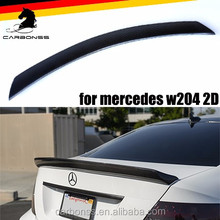 CARBON C CLASS V STYLE REAR TRUNK 2 DOOR SPOILER FOR MERCEDES BENZ W204 2007-2014