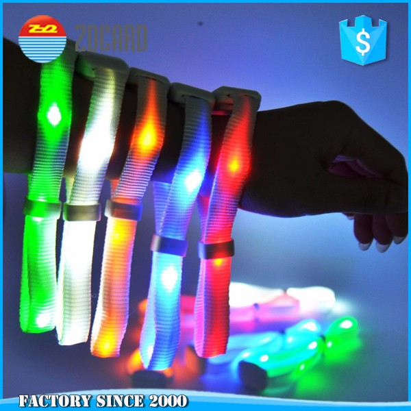 LED flashing music festival! remote controlled led bracelet