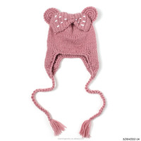 fashion baby hand knit patterns kids hats for winter