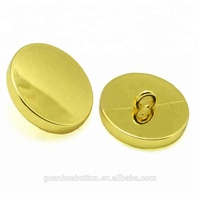 shiny gold 16L alloy fashion design sewing button