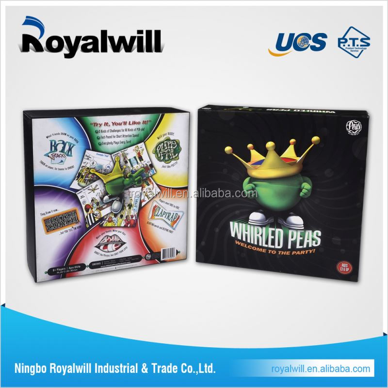 High power new spanish board games for promotion