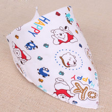 Baby Bibs Cotton Ban dana Bibs Infant Saliva Bavoir Towel baberos bebes Babadores For Newborn Baby Girls Boys