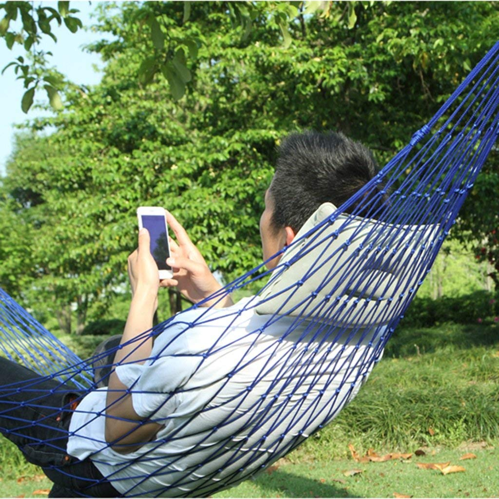 Ren Chang Jia Shi Pin Firm Hammock outdoor nylon hammock mesh swing children adult indoor rollover chair