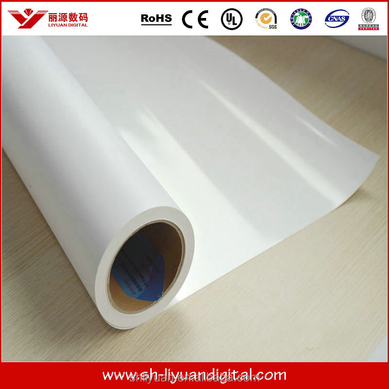 self-adhesive holographic luminescent vinyl film for advertising