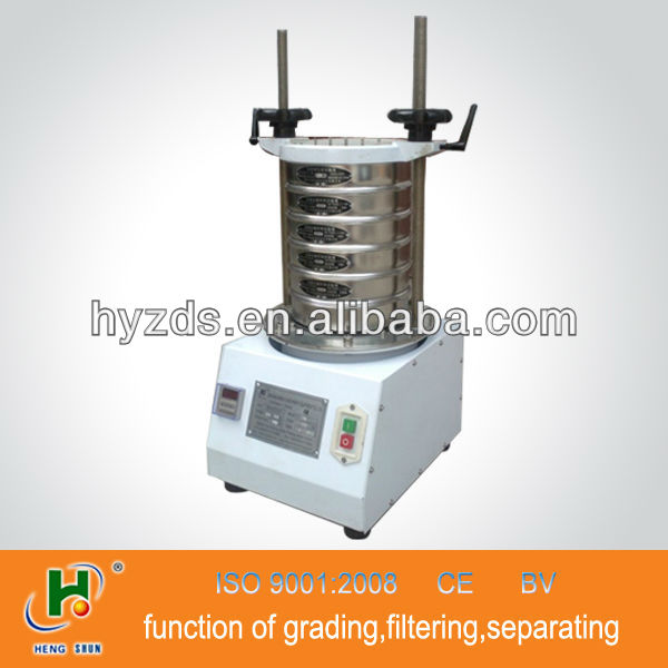 China round professional wheat flour analysis sifter