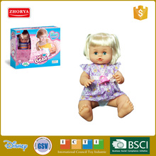Silicone reborn wholesale plastic girl baby toy doll