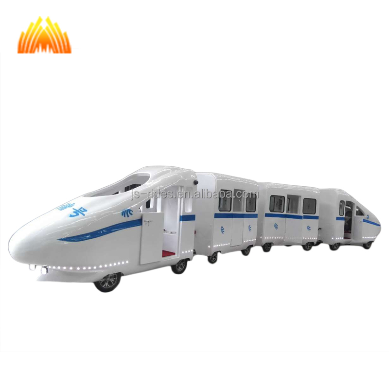 Good quality shopping mall high speed trackless train for kids