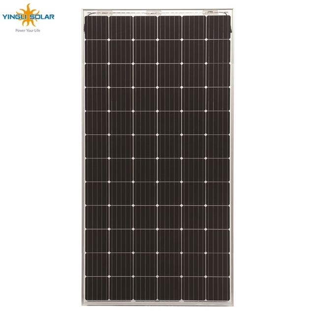 YINGLI world biggest bifacial high capacity 260 w 300w 400w mono bipv panda solar panels