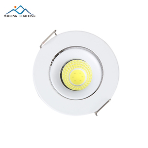 "Kitchen Gypsum Fire Rated 3.0"" Junction Box Recessed COB LED Light Furniture Downlight"