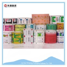 Colored composite and aluminium foil laminated film