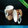 Custom Printed Paper Coffee Cups with Handle