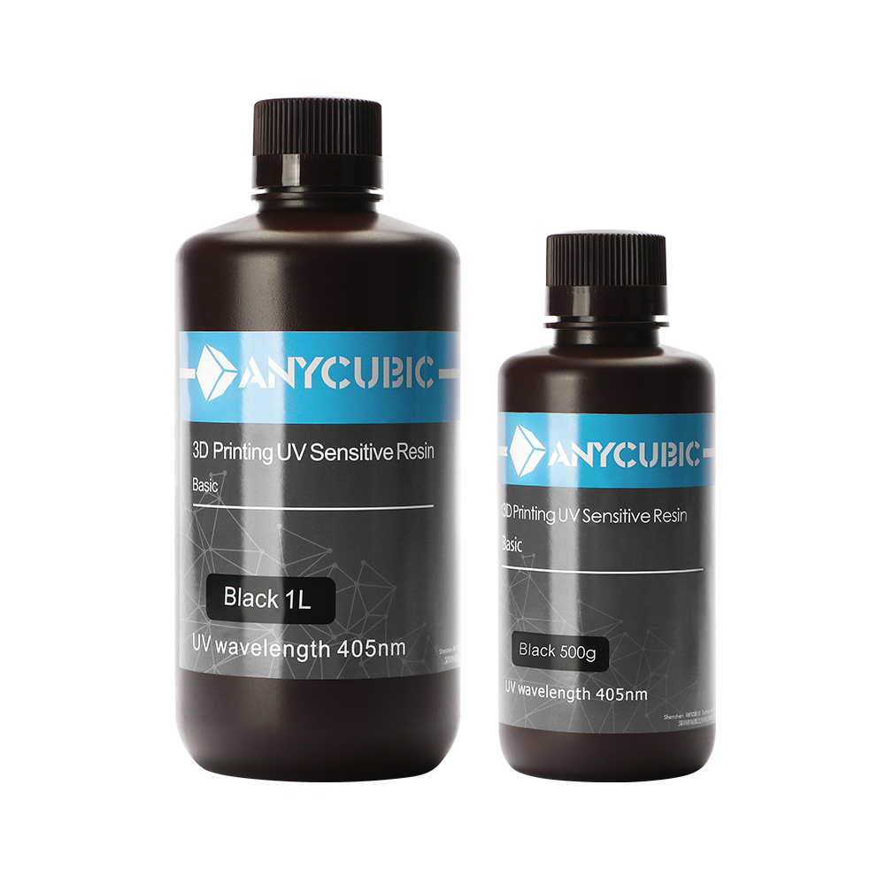 ANYCUBIC 405nm UV <strong>Resin</strong> for Photon / Photon S 3D Normal UV sensitive printer printing material 500ML / 1L Gadget liquid bottle