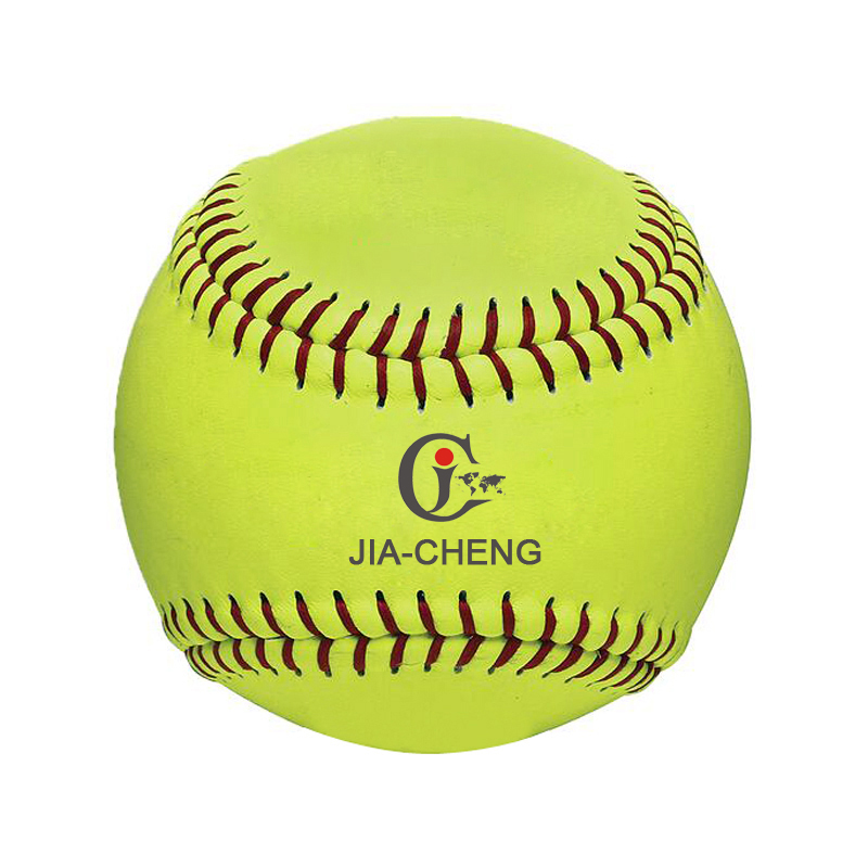 Hoge Kwaliteit Custom 12 inch Lederen Softbal en Baseball Ballen voor Outdoor Game