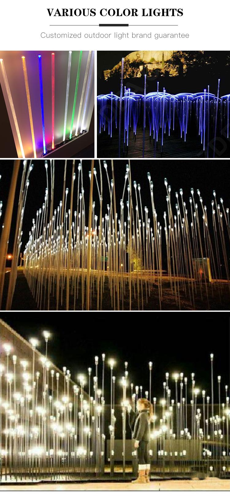 Outdoor IP65 holiday landscape decoration lamp solar LED fiber optic light