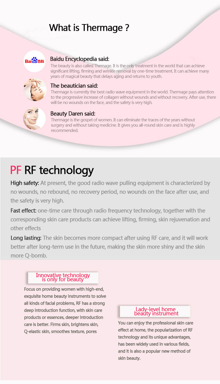 RF Equipment beauty instrument