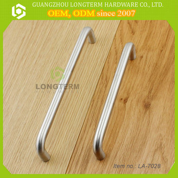 304 Stainless Steel Pull Handles Wire Pull U Shape Cabinet Handle