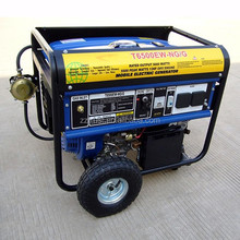 Factory supply small used 5kw silent natural gas generator cheap portable generators