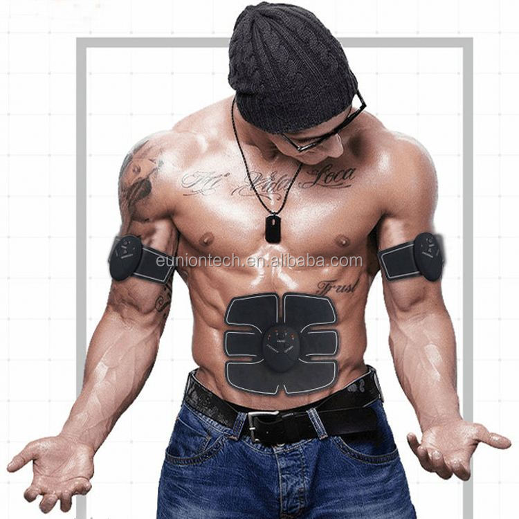 China EMS Electronic Pulse Body Massager AB Abdominal Muscle Stimulation Toning Massager,ABS Toner Body Muscle Trainer