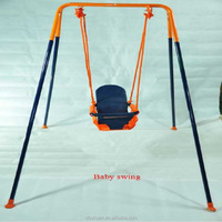 Indoor and Outdoor Baby Metal Swing
