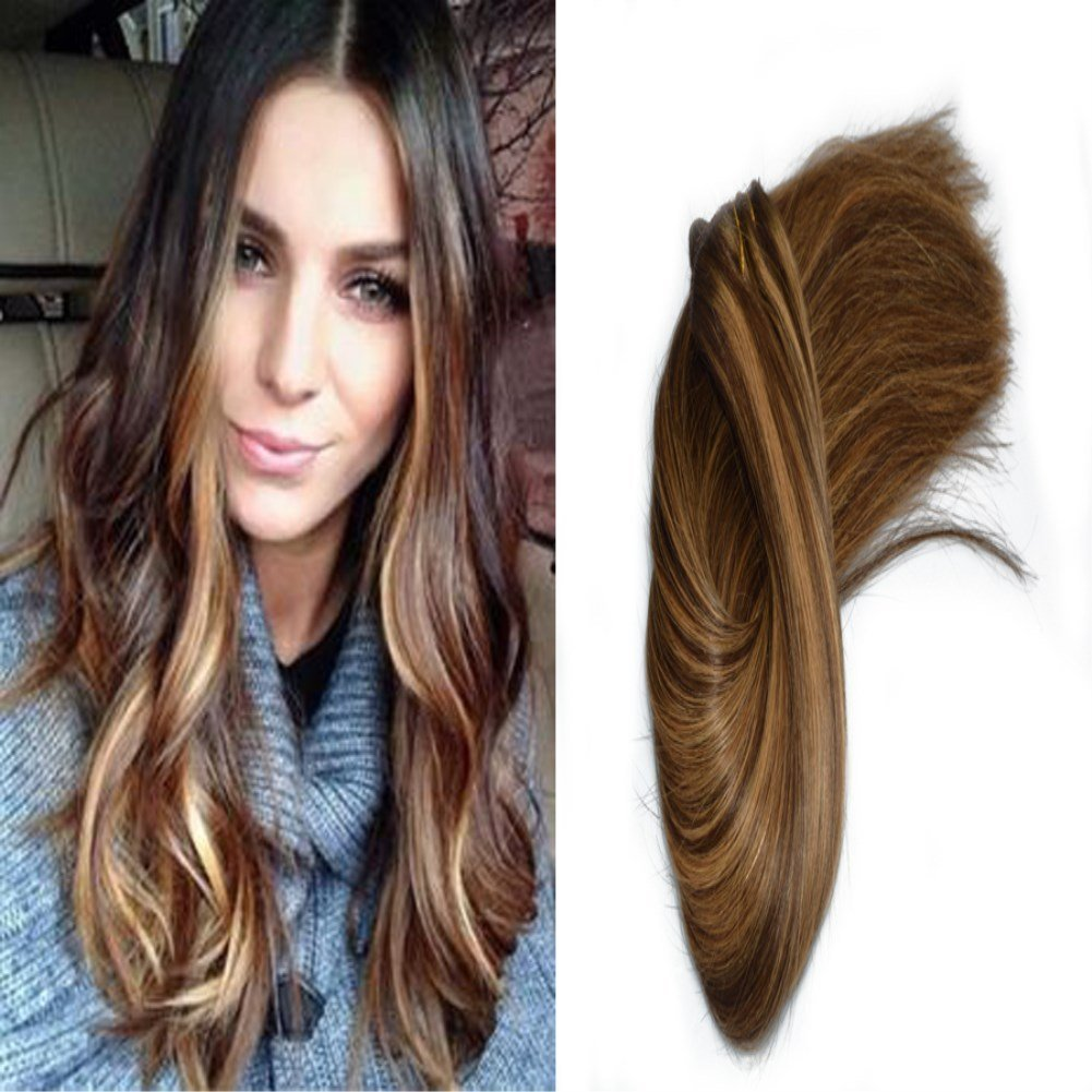 Buy Hairdancing 100g 7pcs Brunette Ombre Balayage Blonde Highlights