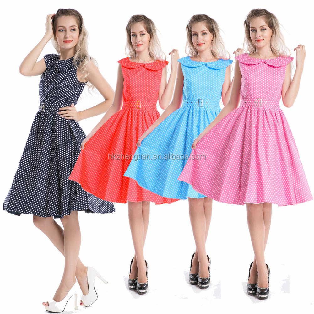 Asombroso 50s Vestidos De Fiesta Componente - Colección de Vestidos ...