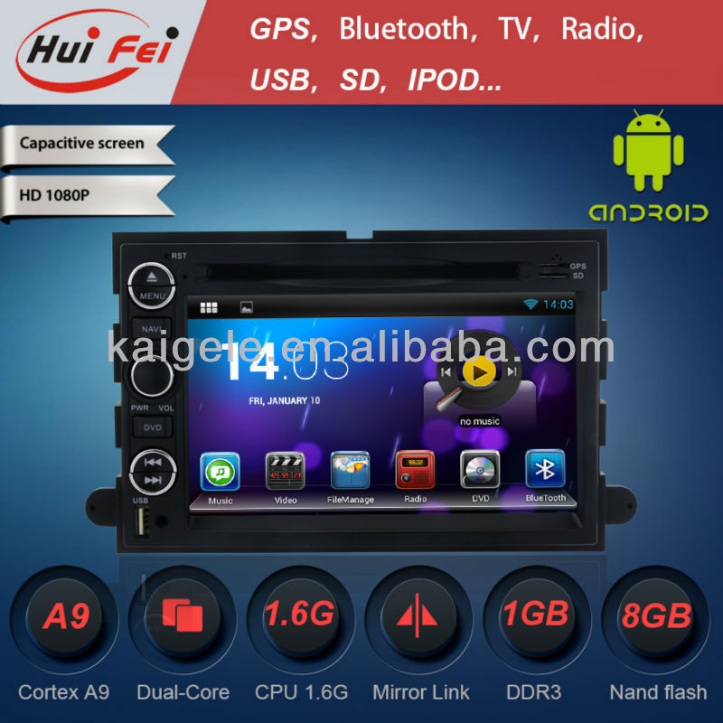 Car DVD Player for FORD Expedition Android4.2 + CD + DVD + Boss system