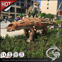 Outdoor amusement park equipment prehistoric dinosaur statue