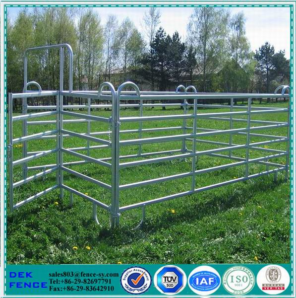 Horse corral panels/ Steel ranch fence gates