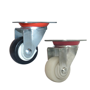 55mm industrial plastic caster wheel and wheel caster supplier