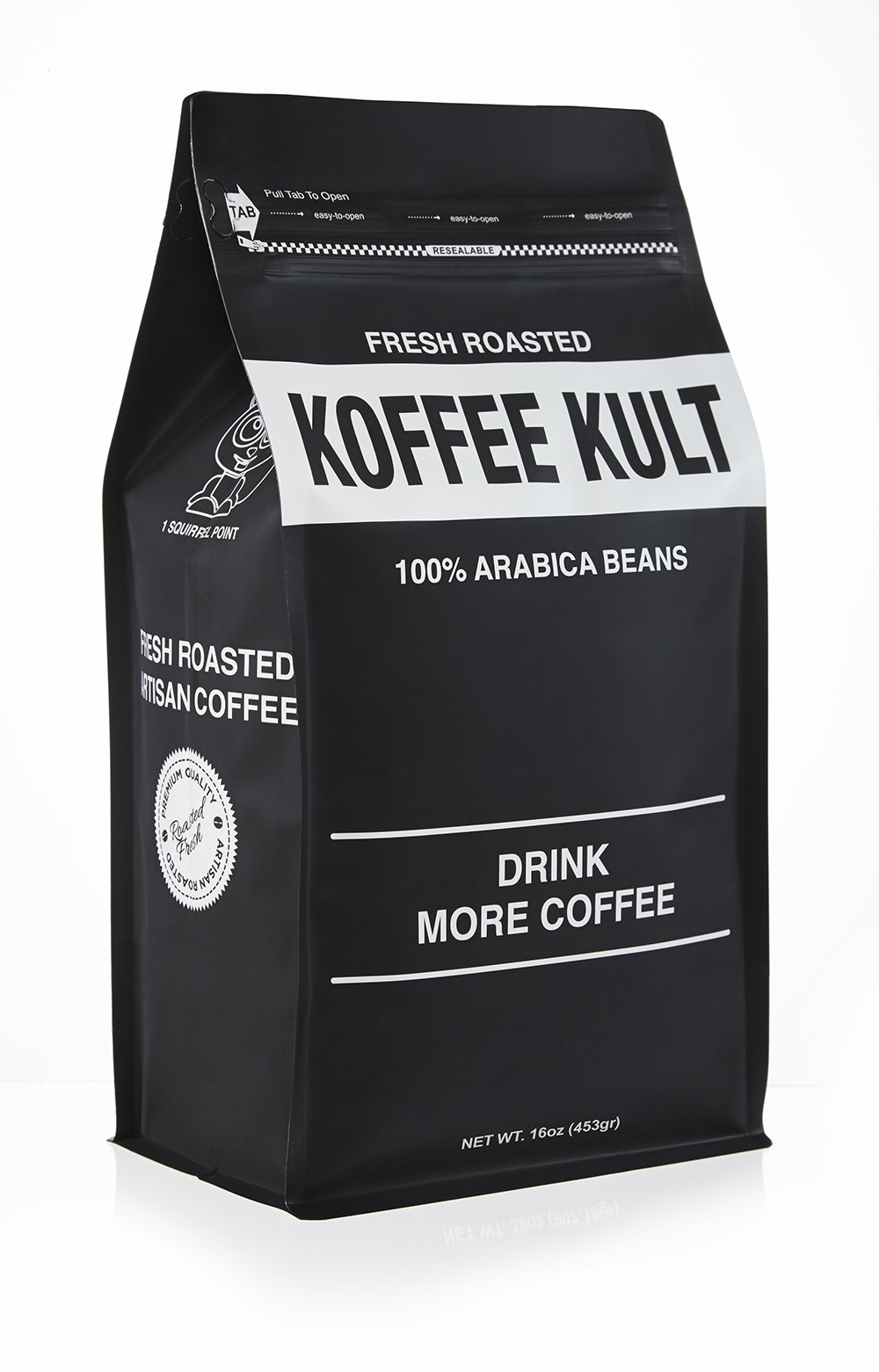 Koffee Kult Colombian Decaf Coffee Medium Roast - Whole Bean - Water Process Chemical Free (Whole Bean)