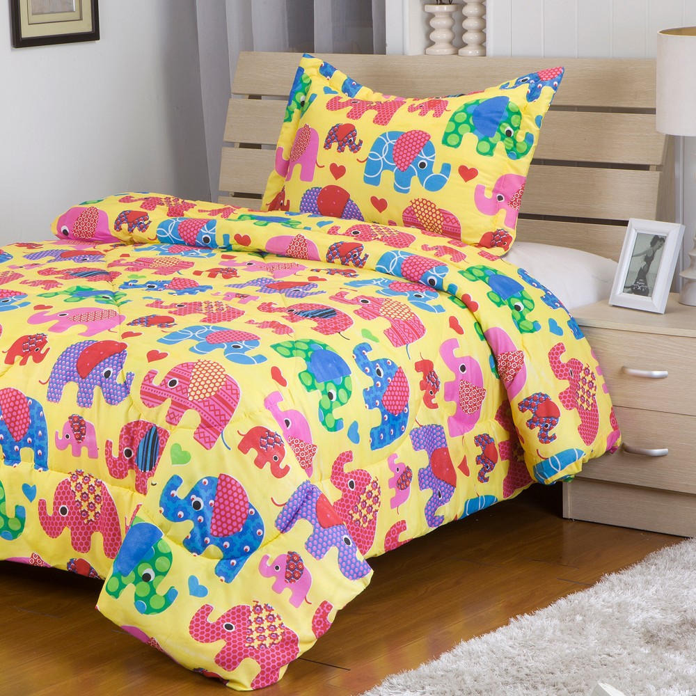 Bedding Polyester Bed Sheet Printed Duvet Cover Wholesale kids bedding set