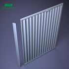 NEW aluminum sun louver exterior wall curtain wall/extruded elliptic sun louver