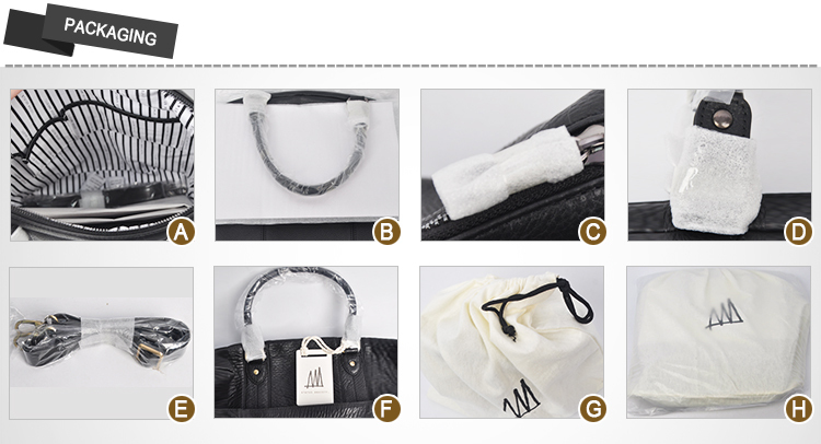 c96f8ddab1 2018 New arrivals China suppliers manufacture custom bag black leather  women handbag