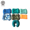Amazon hot selling custom ultralight outdoor travel beach camping compressible inflatable travel pillow set