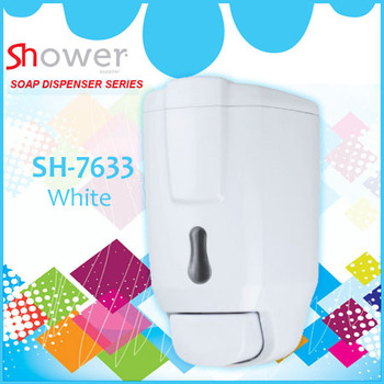Sh 7633 580ml white leelongs ducha dispensador de jabon - Dispensador jabon ducha ...