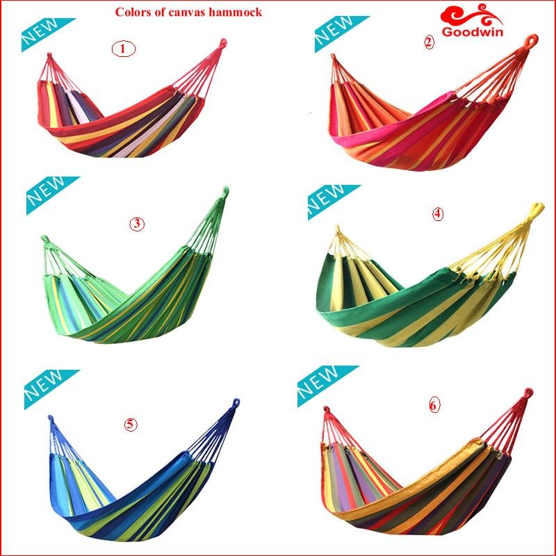 Outdoor Super Light Double Camping Nylon Parachute folding hammock with canopy